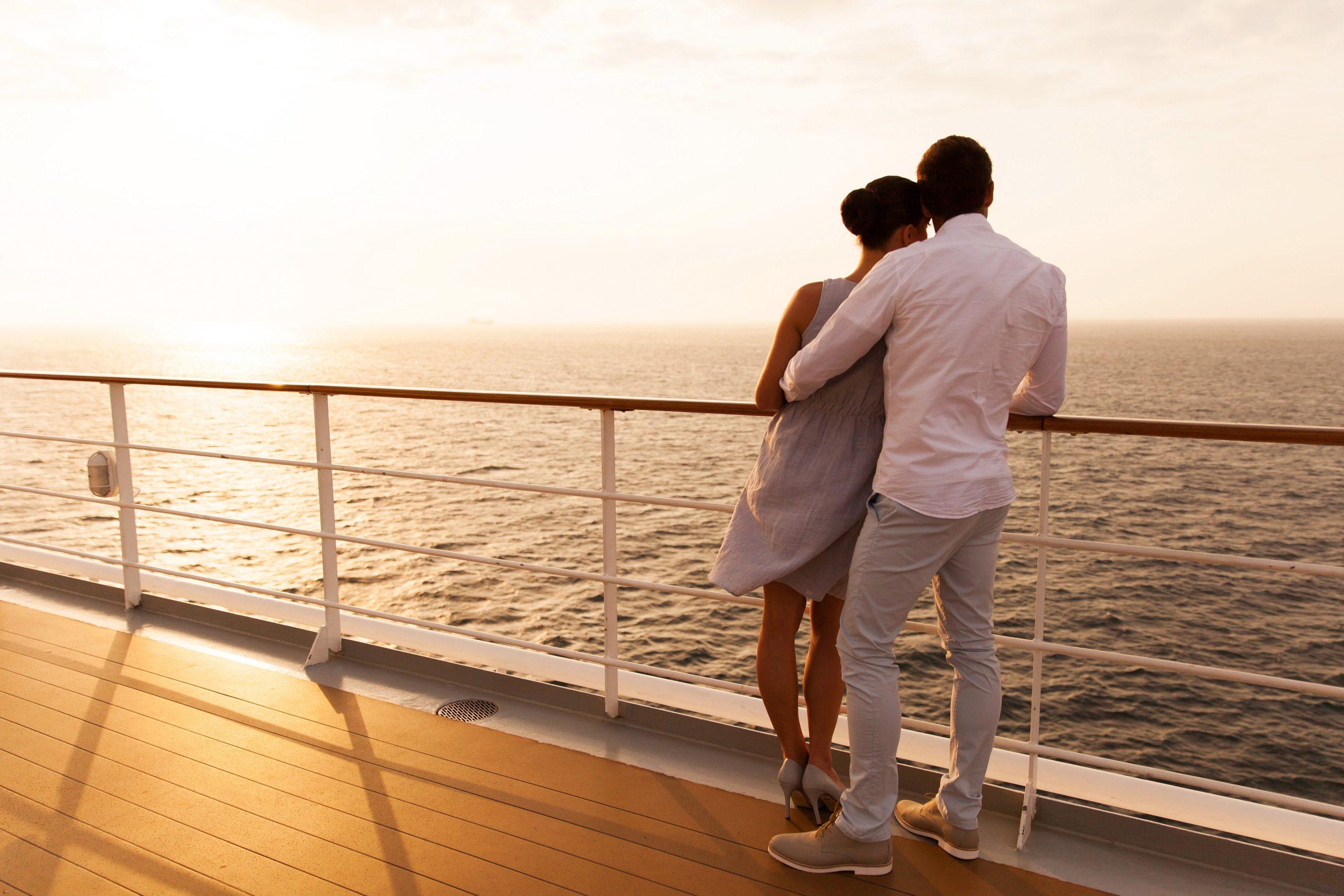 Voyage en couple : le romantisme d'une croisière
