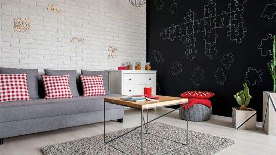 Salon style industriel : idées de décoration Noel